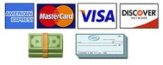 credit card cash check payments